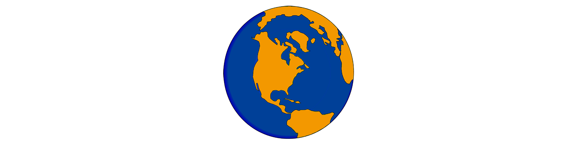 Click here for the globe icon in orange and blue colors