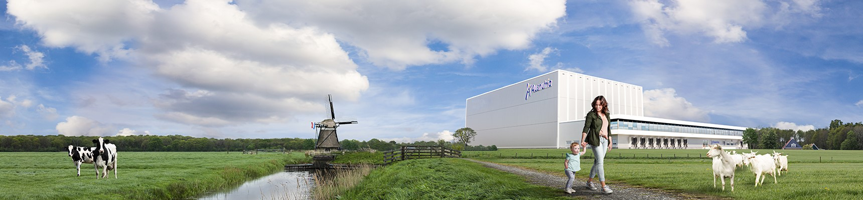 Ausnutria Netherlands over 100 years experience in dairy
